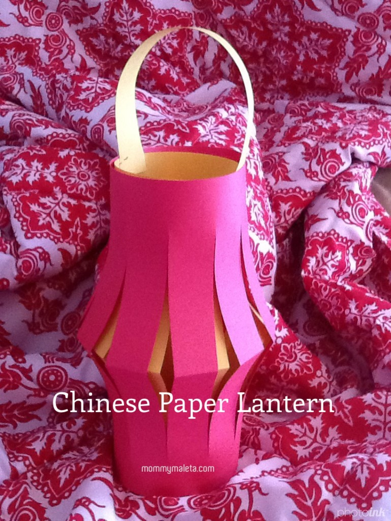 China Craft (Week 3) Chinese Paper Lanterns