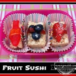 Fruit Sushi (Week 4) Japan Recipe