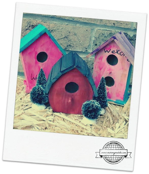 Lebanon Craft | Mini Wooden Birdhouses