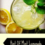 Hint Of Mint Lemonade