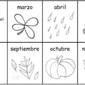 months and days of the week in Spanish