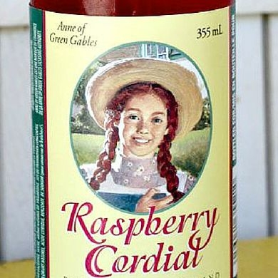 Recipe for Anne's Raspberry Cordial