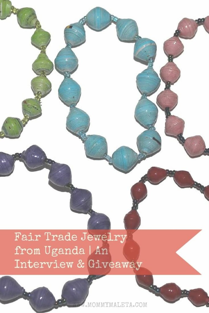 Meet Sarah, owner of fair trade jewelry company International Blessings & Enter Giveaway for a handcrafted bracelet from Uganda