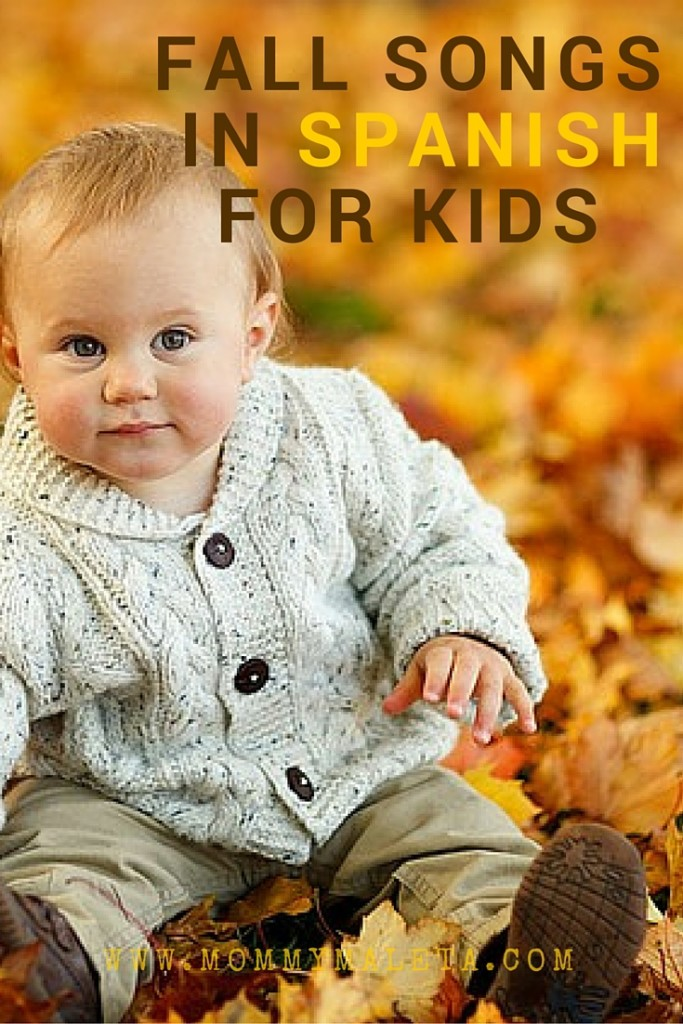 Check out this fun fall collection of Spanish songs and books for kids