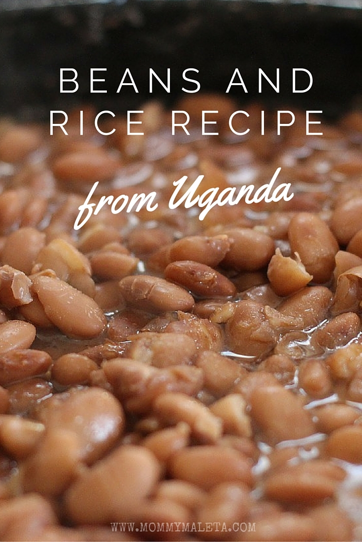 Heres a quick way to taste uganda with beans and rice mommymaleta theres nothing quite like beans and rice to trigger memories of living abroad take this forumfinder Gallery