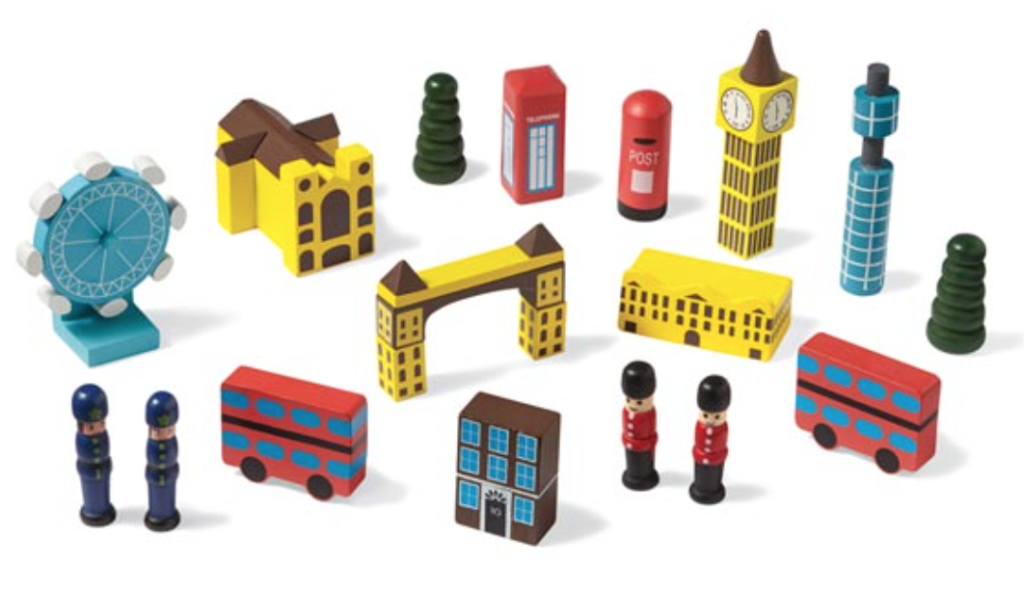 Way better than traditional toys, these mini cities, give your little ones a glimpse of the world.