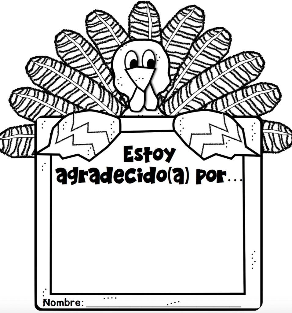 Thanksgiving Freebies in Spanish