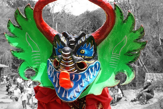 The Dancing Devils of Yare is a tradition in Venezuela