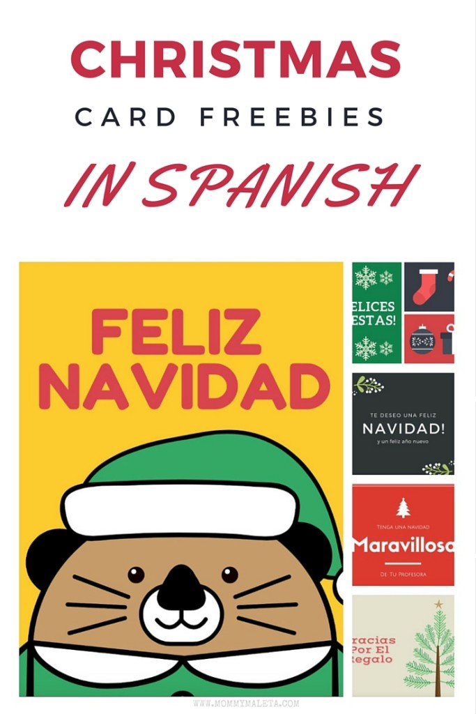 If you're hoping to wish someone a FELIZ NAVIDAD this Christmas...here are five free Christmas card printables just for you!