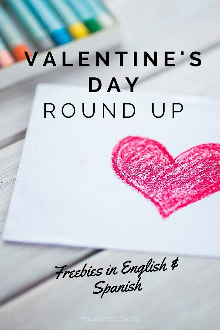 The Ultimate Valentines Day Round Up MommyMaleta – Valentines Cards in Spanish