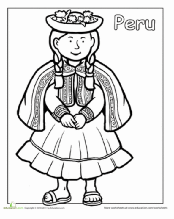 Peruvian-girl-coloring-sheet-screenshot