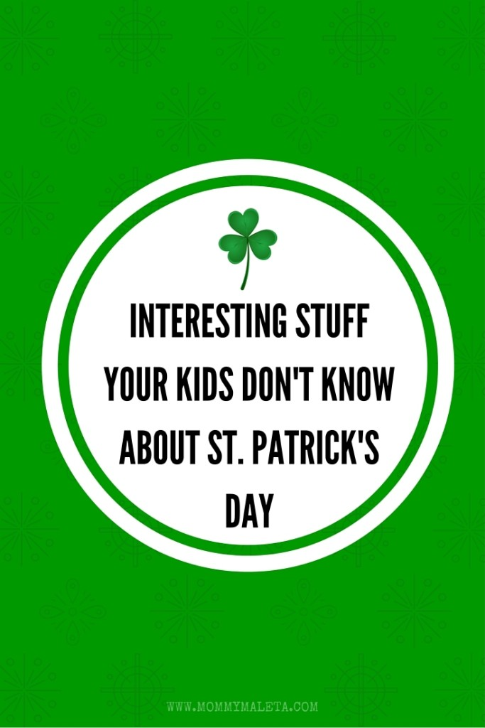 There's lots of interesting stuff your kids don't know about St. Patrick's Day! My St. Patrick's Day printable might just reveal the little known facts.