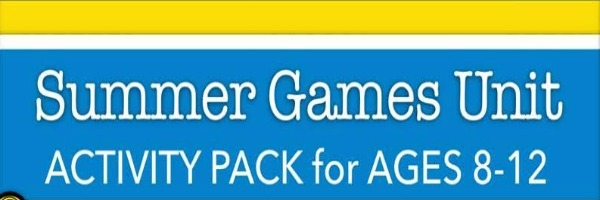 Who Else Wants A Summer Games Activity Pack?