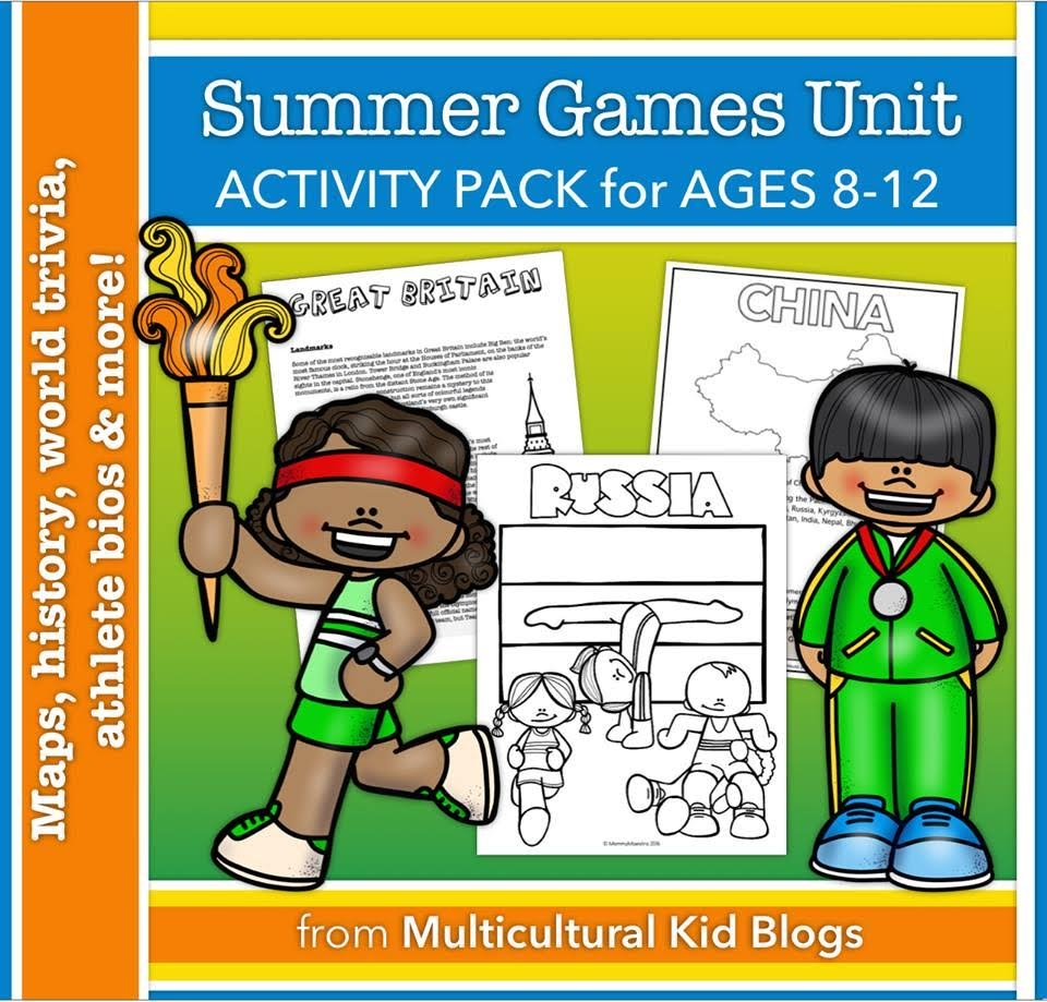 Summer Games Printable Activity Pack