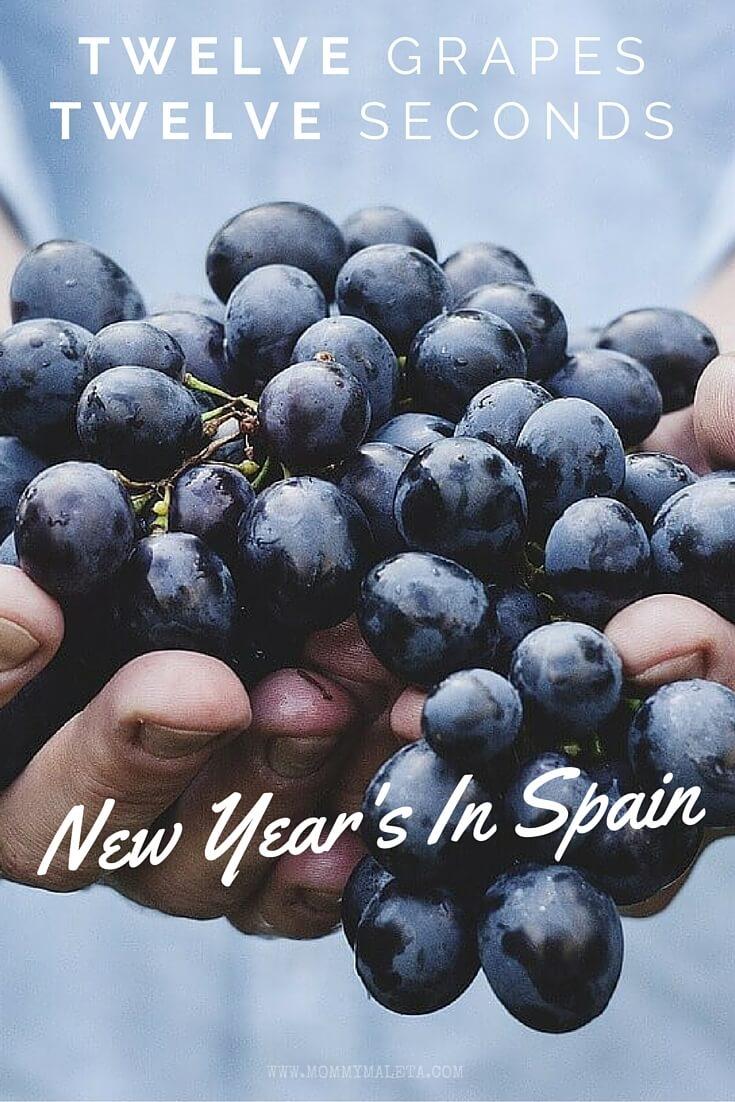 New Year's In Spain   Twelve Grapes In Twelve Seconds ...