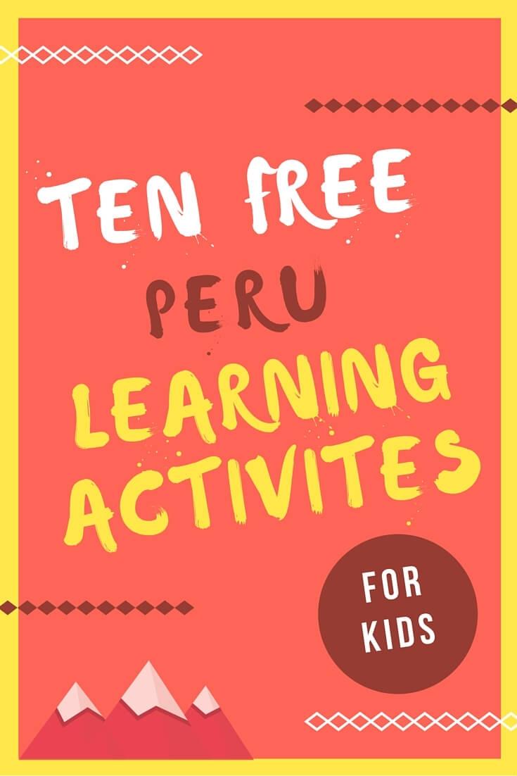 Peruvian Art Projects For Kids